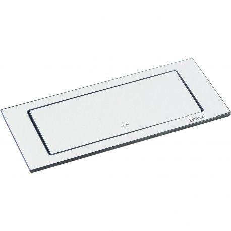 EVOline BackFlip 2x 230V, 1x USB nabíjačka typ A, biela matná