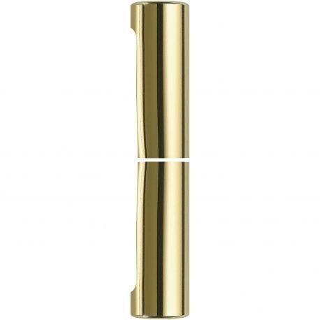 Exacta krytka 14mm, hliníkv zlatej farbe