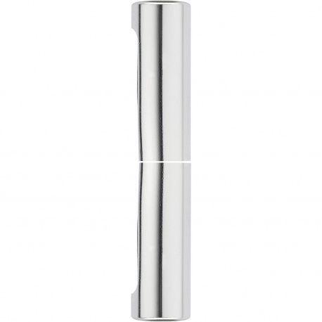 Exacta krytka 14mm, hliník strieborný lesklý