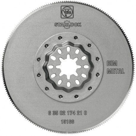 Fein pílový list Bi-Metall 85mm okrúhly tvar, Starlock