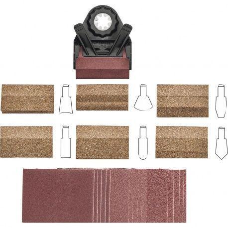 Fein profilová brúsna súprava na drážky a vonk. polomery