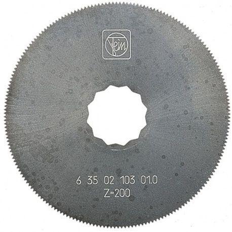 Fein pílový list HSS 80mm, tvar 103, 2ks