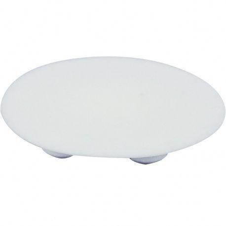 Krytka na excenter DM-39mm plast biely