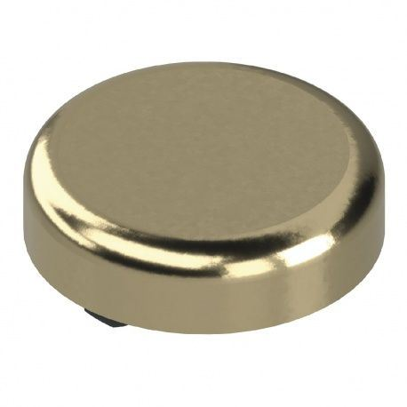 BLUM krytka závesu na sklenené dvierka, okrúhla, pozlátený plast