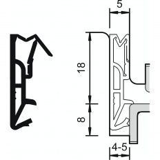 Tesnenie Deventer DS185a silikón
