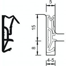 Tesnenie Deventer DS155a silikón