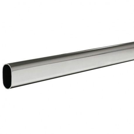 Šatníková tyč 30x15 pochrómovaná
