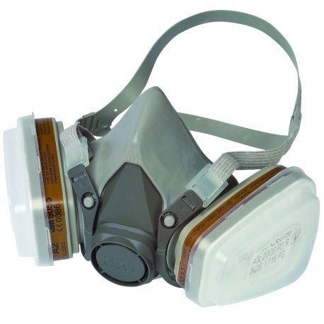 3M ochranná respiračná maska 6223M, stupeň ochrany A2P3