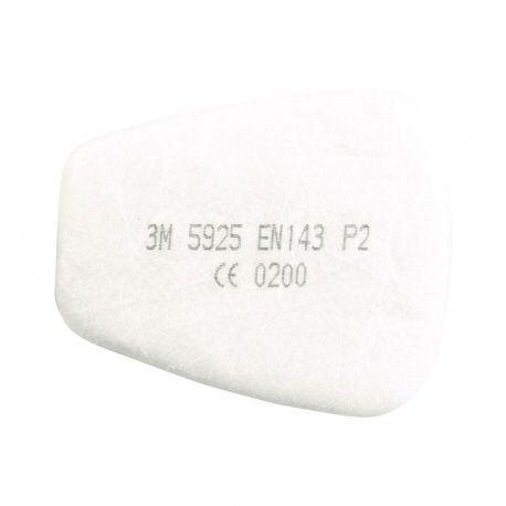 Časticový filter 3M, 5925/P2 k respiračným maskám série 6000