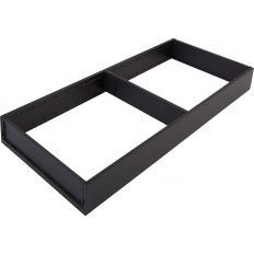 Blum Ambia-Line zásuvkový rám čierny, š.200mm, NL-500mm