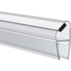 Magnetické tesnenie na sprchové dvere 90° pre 6-8mm