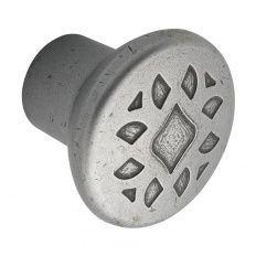 Knopok Djerba, zinková zliatina, starý zinok antik, d-35mm