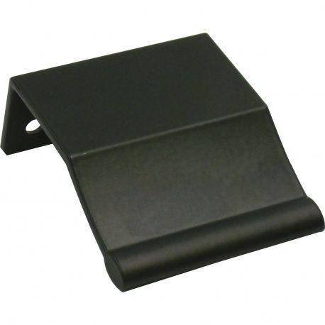 Úchytka Alioth, hliník, čierny matný, 45/32mm